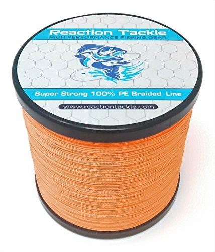 (Reaction Tackle Hi Vis Orange 50LB 300yd)