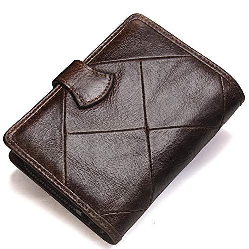 Size Pour Cuir S Hommes En Brown Porte Brown color monnaie q160nxwt