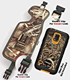 Camouflage Rugged Heavy Duty Holster Pouch with Metal Belt Clip Fits for Samsung Galaxy S5 Active Otterbox Case On
