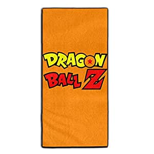 Yaieia dragon ball z logo polyester velvet for Dragon ball z bathroom