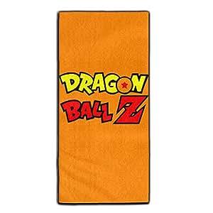Yaieia dragon ball z logo polyester velvet for Dragon ball z bathroom