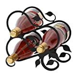 9.5 Inch Leaf Wine Rack For Sale