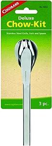 Coghlan's Deluxe Chow Kit - Knife, Spoon, Fork