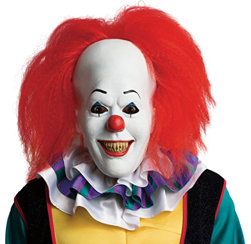 Adult Pennywise Clown Costumes - Rubie's Men's It Pennywise Adult Mask,