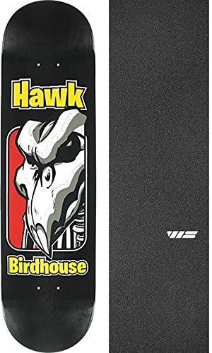 Old School Skates (Birdhouse Skateboards Tony Hawk Old School Skateboard Deck - 8
