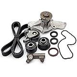 Scitoo TBK214 Fits 95-02 Mazda 626 Millenia MX6 Ford Probe 2.5L 2.5 DOHC KL Timing Belt Kit Water Pump