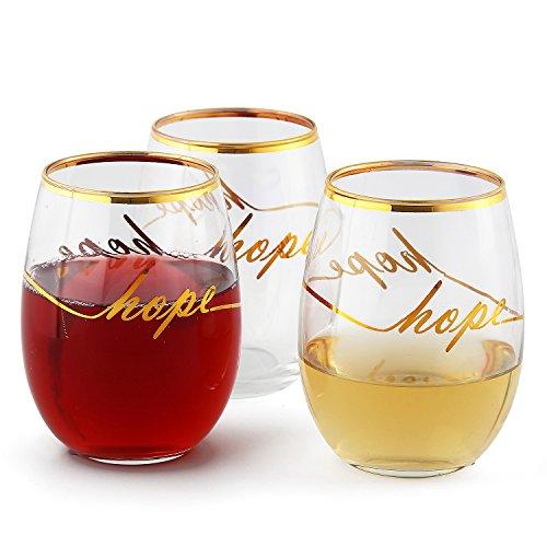 Arc International Luminarc Stemless Wine Glass Hope ()