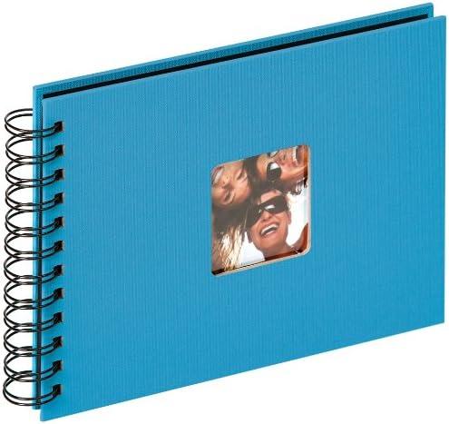Fun Fotoalbum 30x30 cm oceanblau schwarze Seiten