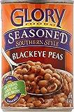 Glory Foods Seasoned Blackeye Peas, 15-Ounce (Pack of 12)