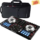 Pioneer DDJ-SR Portable 2-Channel Controller for Serato DJ Bundle with DJC-SC2 Carrying Case