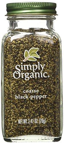 Simply Organic Coarse Ground Black Pepper, 2.47 Ounce Simply Organic Organic Ground