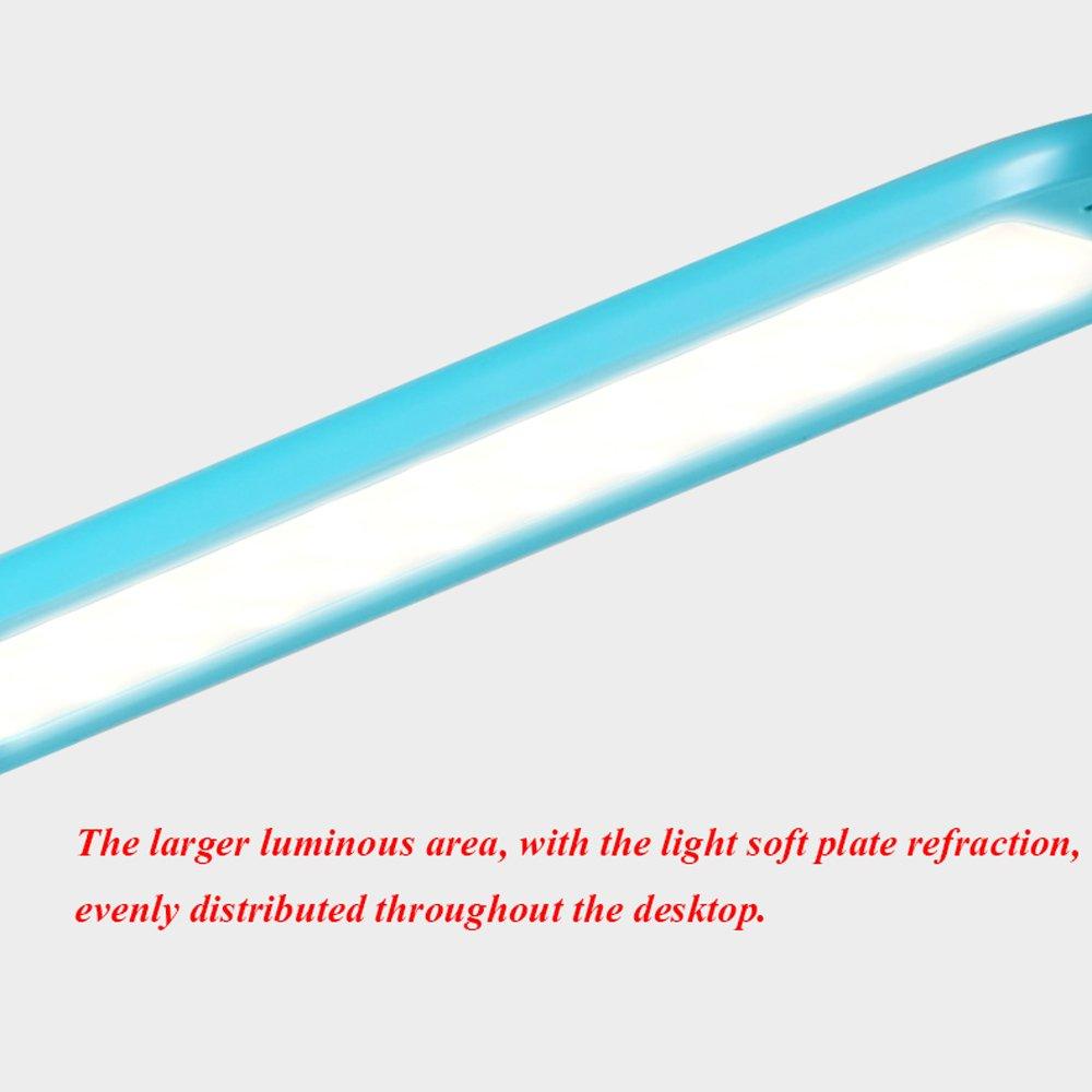 Lámpara de escritorio de LED moda creativa creativa moda simple protección moderna ojo estudiantes de aprendizaje de aprendizaje oficina dormitorio de lectura de lectura de la cama de ahorro de energía lámpara de mesa tacto atenuación fb2ba4