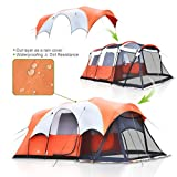 ALPHA-CAMP-Cabin-Tent-Family-Camping-Tent-with-Screen-PorchOrangeWhite-6-Person-17-x-9