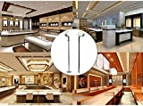 Xking 4-Pack Dimmable LED 1.5W Mini Spotlights Pole