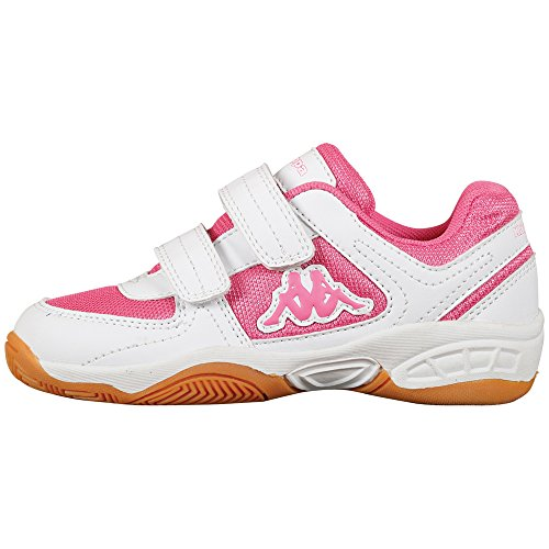 Kappa CABER K 260176K - Zapatillas para niños blanco - Weiß (1027 white/l`pink)