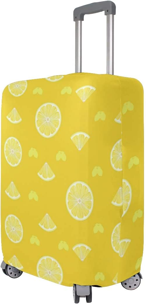 Sweet And Sour Lemon Bars Travel Luggage Protector Case Suitcase Protector For Man/&Woman Fits 18-32 Inch Luggage