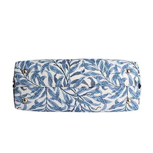 Signare Ramo Borsa Morris William salice spalla di moda stile a alla tessuto in arazzo convertibile TF47qwFxd
