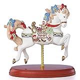 Lenox 2018 Christmas Carousel Horse Figurine