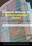 Research Methods for Applied Language Studies, Steven John Ross and Paul Seedhouse, 0415551412