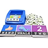 MECO Figure Spelling Game Platter Puzzle Spell Words Children's Early Learning Toys