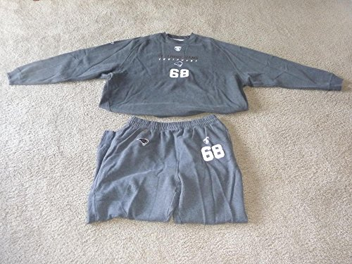 RICHIE INCOGNITO ST. LOUIS RAMS NFL GAME WORN SWEATPANTS AND SWEATSHIRT