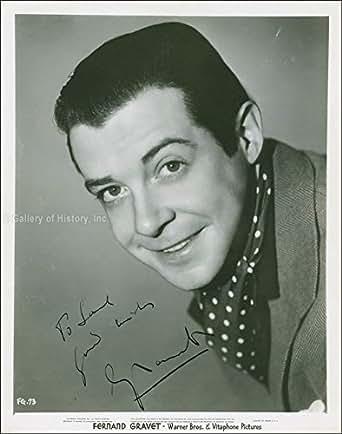 Fernand Gravet - Inscribed Photograph Signed