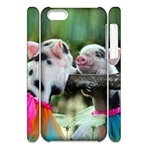 Cute Pig Phone Case For Iphone 4/4s [Pattern-1]