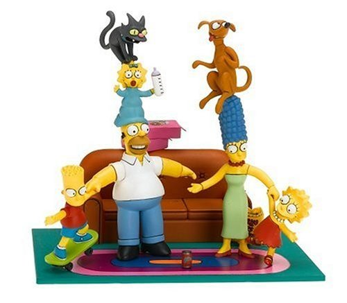McFarlane Toys - The Simpsons Box Set Family Couch Gag by Unknown Simpsons Couch