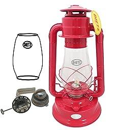 Dietz #80 Blizzard Oil Burning Lantern Combo Kit (Red)