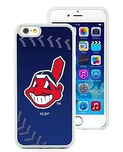 Superior Custom Design Cleveland Indians White Case For iPhone 6 TPU 4.7 inch