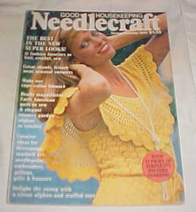 Good Housekeeping Needlecraft Spring (Good Housekeeping Needlecraft Spring-Summer 1976 Magazine (Great Shawls, Leisure Wear, Oriental Sweaters))