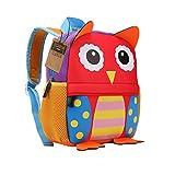 Teamen Children's school backpack, animal design, for children 2-6years old, owl