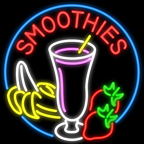 Sign Led Smoothies - Desung 32