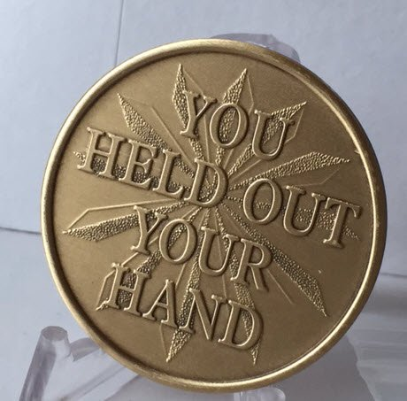 Wendells - You Held Out Your Hand And Changed My Life - Bronze AA Medallion
