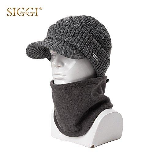 Knit Newsboy Hat Pattern - 3