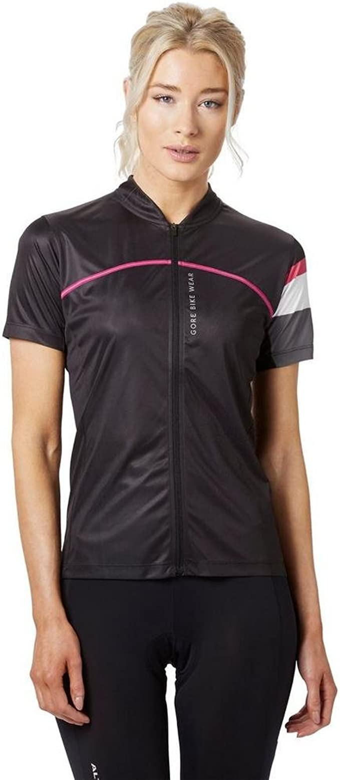GORE BIKE WEAR Femme Cuissard de Cyclisme TPOWRL Insert Peau de Chamois Power Lady Tights+ Respirant Taille XL Noir Gore Selected Fabrics