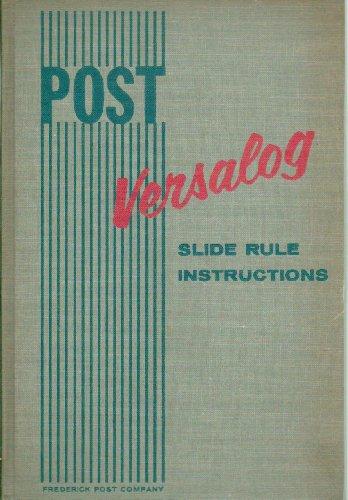 Slide Rule Manual - 4