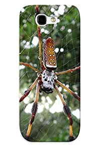 Design Animal Golden Silk Orb Weaver Spider Hard For Case Ipod Touch 4 Cover(gift For Lovers)