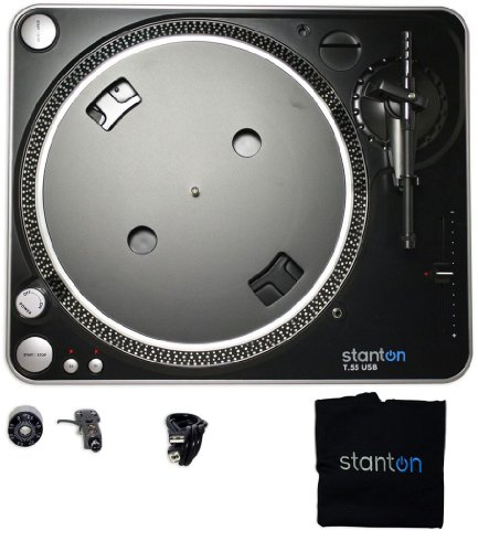 T55 Replacement (Stanton T55USB USB Belt-Drive DJ Turntable with Stanton 300 Cartridge)