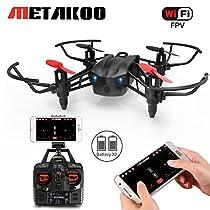 Metakoo M5 Drone con Telecamera Quadrirotore Equipaggiato con Acrobazie 3D, Headless Mode,