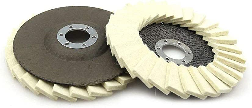 1 Set Stainless Steel Polishing For Angle Grinder Flap Discs Buffing Accessories
