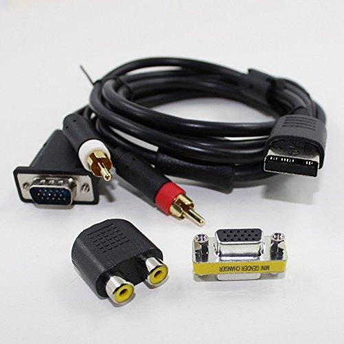 Galyme Band New SEGA DC VGA Cable SEGA Dreamcast VGA Cable HD adapter DC VGA BOX