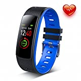 DR.VIVA Fitness Tracker Watch, Heart Rate Activity Tracker Touch Color Screen IP67 Waterproof Sport Tracker Watch with Calorie Counter Pedometer Sleep Monitor for Kids Women Men