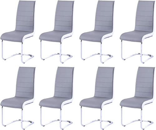 Modern Dining Chairs Set of 8