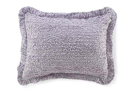 Laura Lavender Euro Sham 2 Pcs (Laura Floral Pillow Shams)