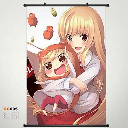 Home Decor Anime Himouto! Umaru-chan Umaru Doma Cosplay Scroll Poster  23 6*35 4 Inches b2 5