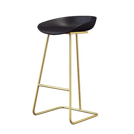 Amazon.com: NLLPZ-STOOL - Taburete alto para bar o mesa de ...