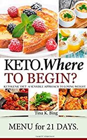 Keto: Where to begin? A Sensible Approach to Losing Weight.  Menu for 21 days.