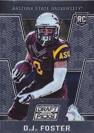 huge selection of 93c69 f4b64 2016 PANINI DRAFT PICKS PRIZM FOOTBALL D.J. FOSTER RC ROOKIE ...