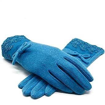 Amazon.com: Aodewe Winter Warm Velvet Touch Screen Wool